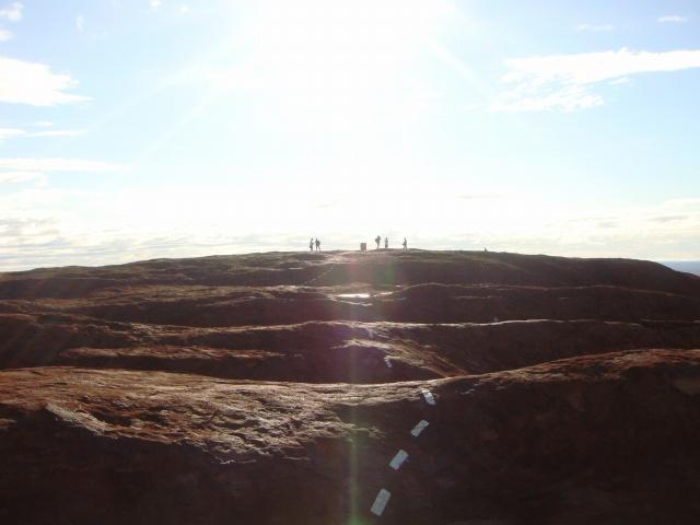 ウルル(エアーズロック)の登山道