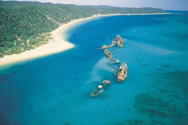 美しいモートン島の海