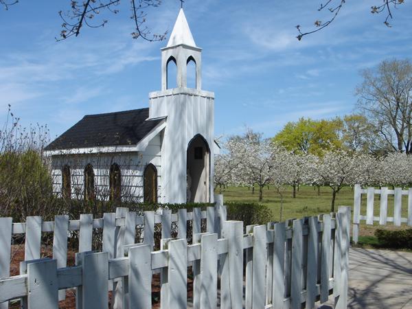世界で一番小さな教会だよ。