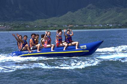人気のバナナボート