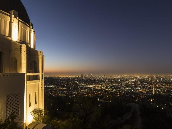 グリフィスパークからの夜景