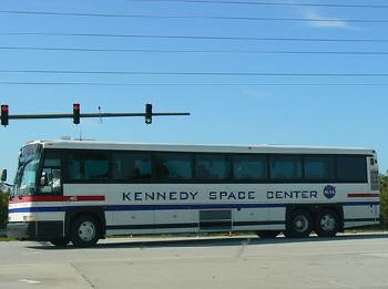バスツアーへ出発