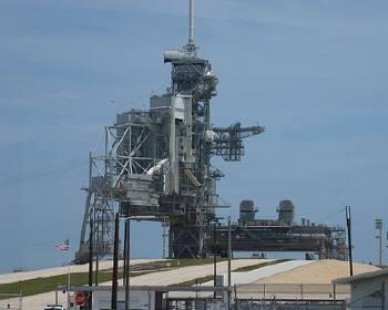スペースシャトル発射台