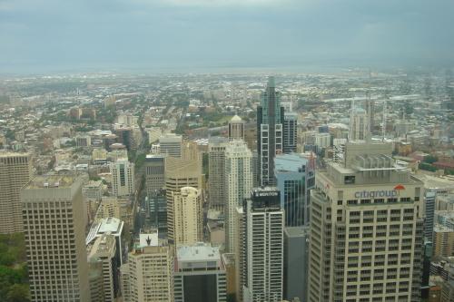 シドニータワーからの眺め 空港方面