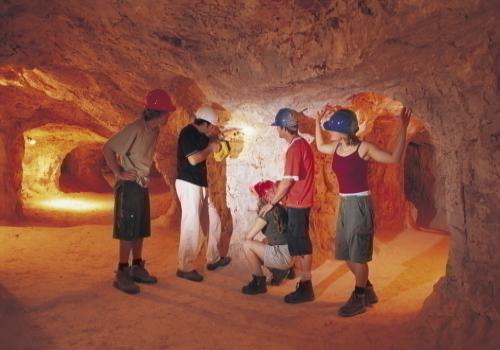 オパール鉱山ツアー