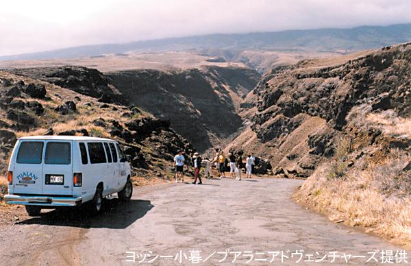 「リトル・キャニオン」マナワイヌイ峡谷