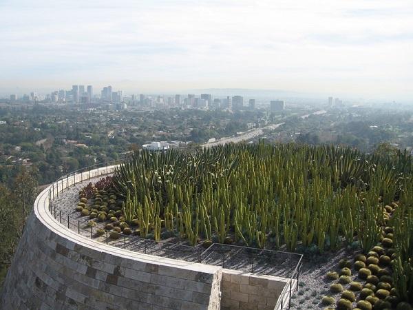 高台から見るロサンゼルス