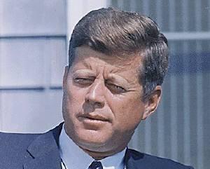 根強い人気のケネディ元大統領
