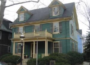 閑静な住宅街にあるケネディ元大統領の生家