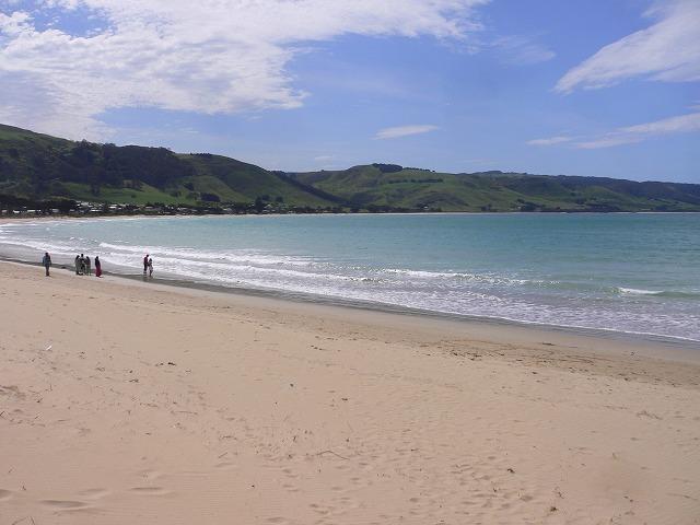 アポロベイの美しいビーチ