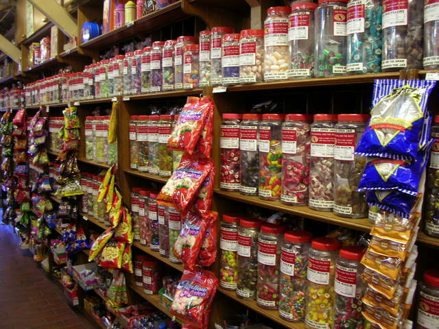 ルーラで人気のキャンディーショップ