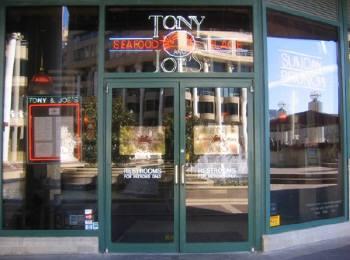 シーフードで有名なTONY&JOE'S