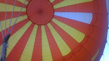 気球の中はこんな感じ