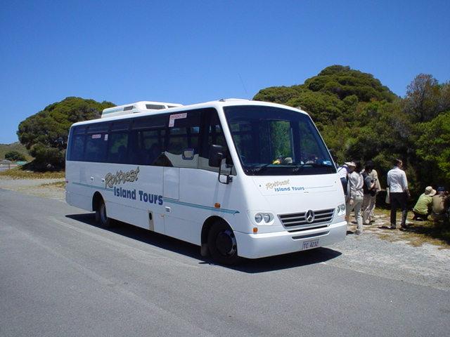 約2時間の観光バス付き