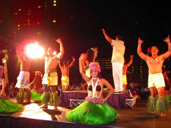 太平洋の島々のユニークなショー