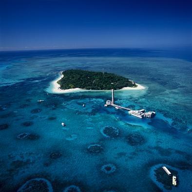 グレートバリアリーフの楽園 グリーン島