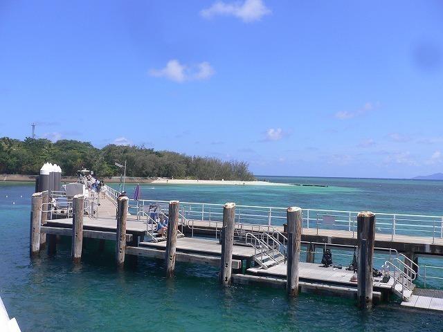 グリーン島の桟橋