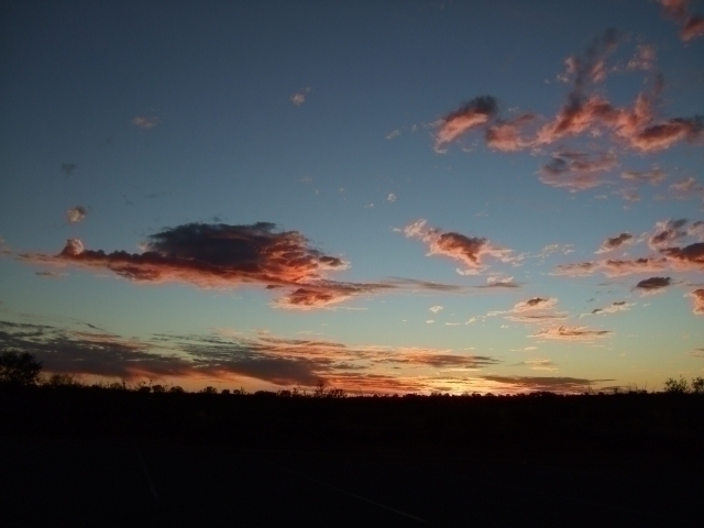 太陽が落ちた後の夕焼けもまた綺麗