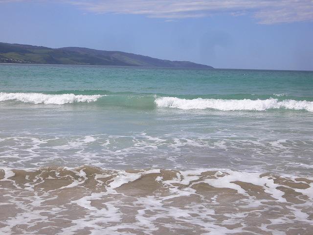 アポロベイの綺麗なビーチ