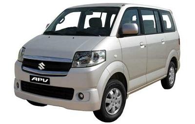 スズキAPV車1名から4名様まで乗車可能
