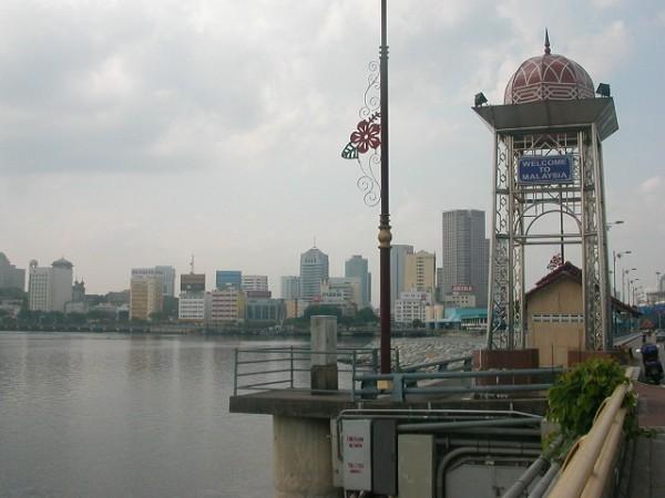 シンガポールとマレーシアの国境