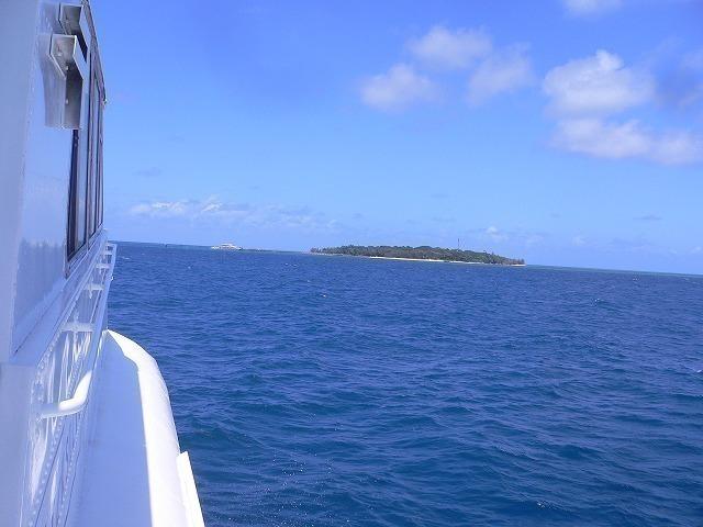 グリーン島が見えてきたぞ!!