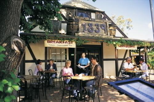 ハーンドーフのカフェ