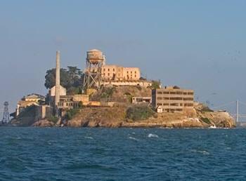 アルカトラズ島も間近に見えます