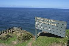 オーストラリア大陸の最東端ポイントです