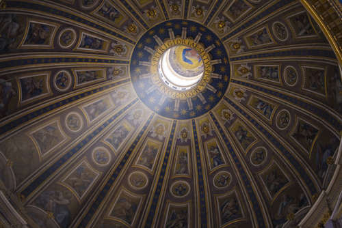 サン・ピエトロ寺院の内部