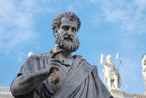 サンピエトロの像