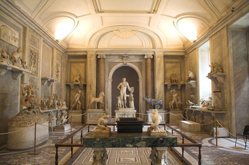 ヴァチカン美術館内部