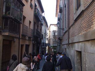 迷路のような旧市街