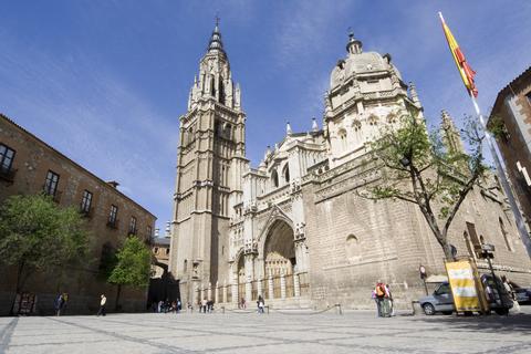 1493年に完成したフランス・ゴシック様式の大聖堂