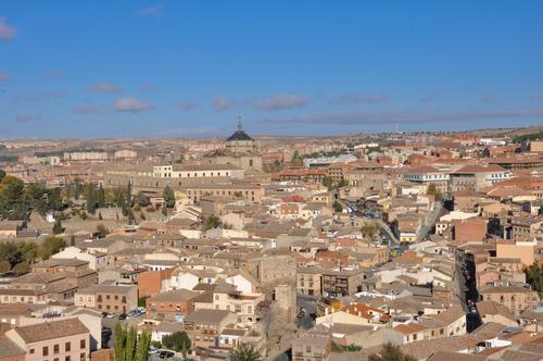 中世の街 トレド 全貌