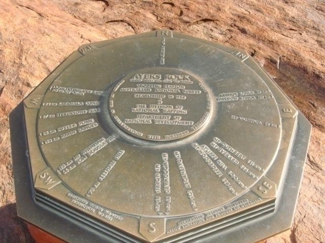 これが頂上の記念碑