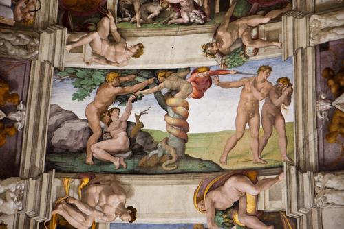 システィーナ礼拝堂の天井絵