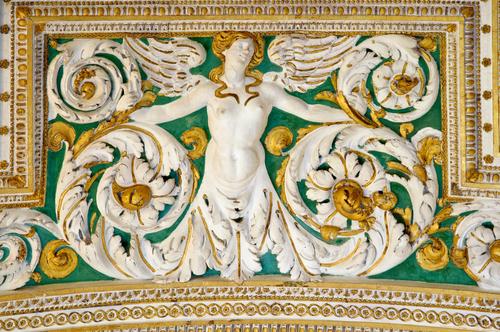 ヴァチカン美術館の館内装飾