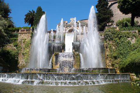 ヴィラ・エステのネプチューン噴水