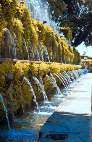 ヴィラ・エステの百噴水