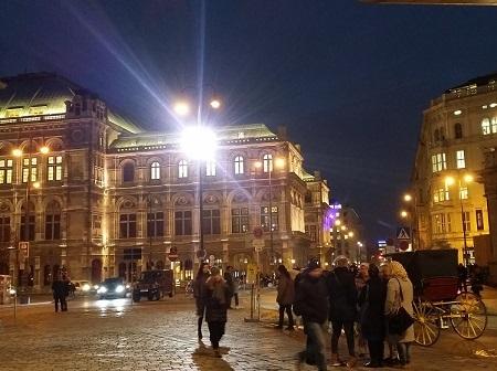 国立オペラ座 ※冬の夜のイメージ