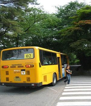 南山登山専用バス
