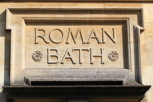 ローマンバス跡