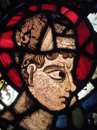 カンタベリー大聖堂のステンドグラス