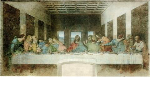 一番の見所、「最後の晩餐」
