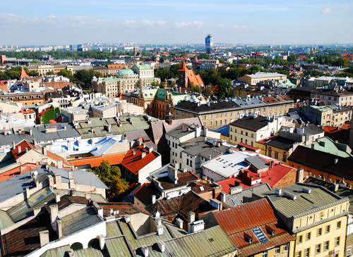 クラクフの旧市街
