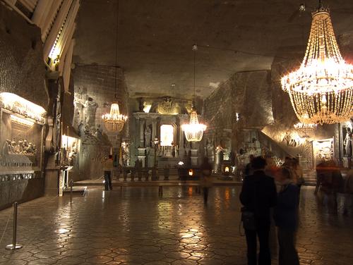 ヴィエリチカの聖ギンガ礼拝堂