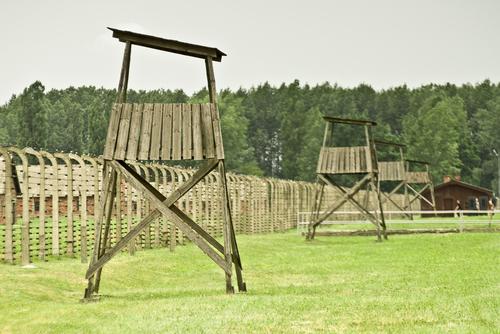 ビルケナウ強制収容所の監視塔