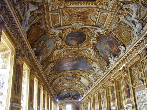 ベルサイユ宮殿の館内