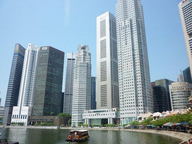 近代都市シンガポール